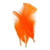 Marabou Feathers 4-6'' Orange